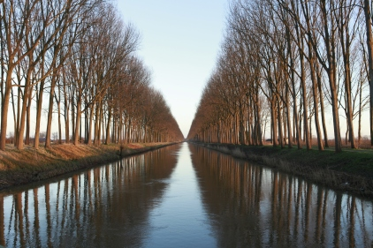 Le canal de Damme
